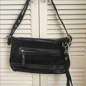Coach Legacy East/West Tassle Duffle Bag 9363